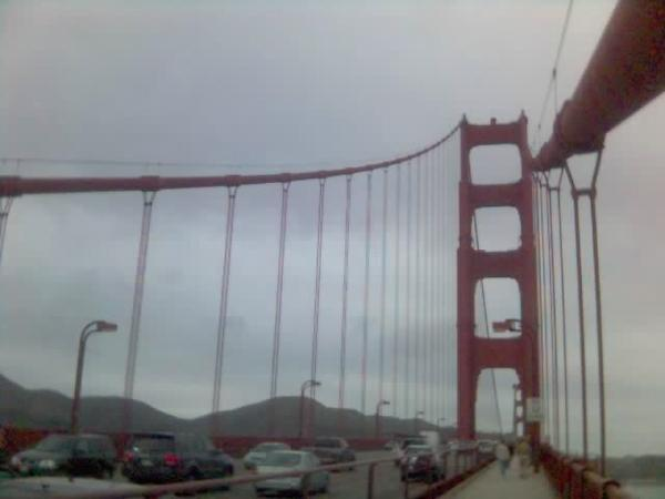 The Golden Gate Bridge - San Francisco (Feb. 2008)
