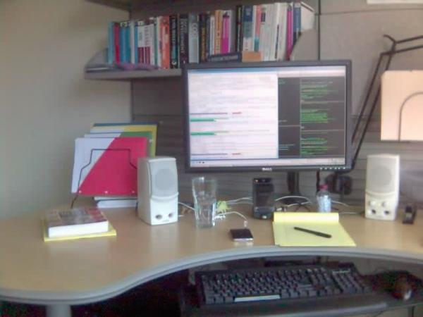Clean desk (April 2007)