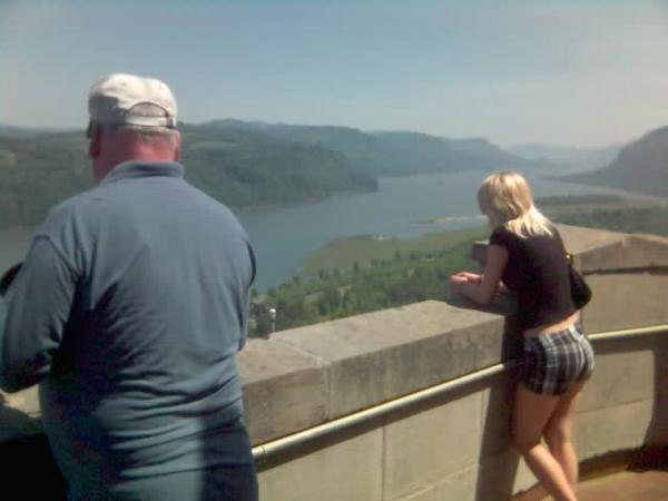 Looking out at the Gorge #2 - Oregon (May 2008)