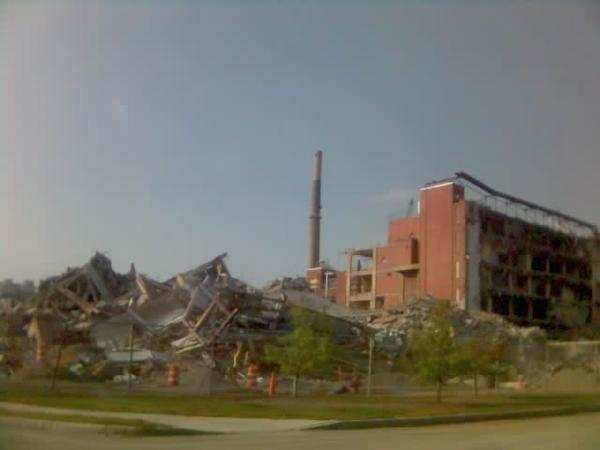 End of the film industry at Kodak - Rochester (Sept. 2007)