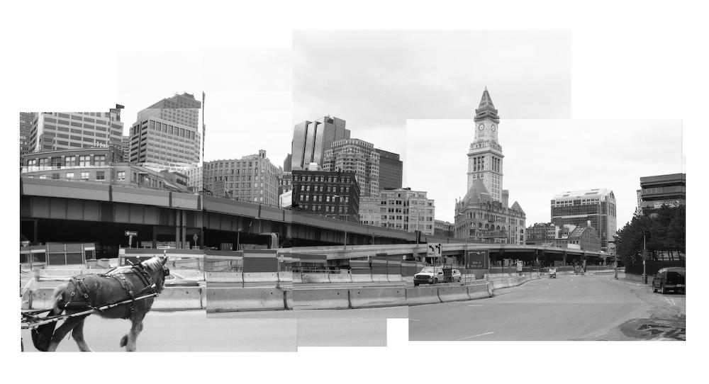 Central Artery Montage - Boston, MA