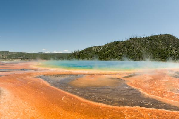 Grand Prismatic Pool (Yellowstone NP, Wyoming)