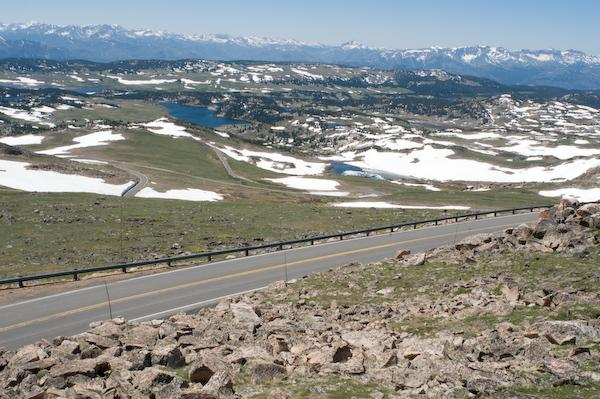 The Beartooth Highway, Wyoming