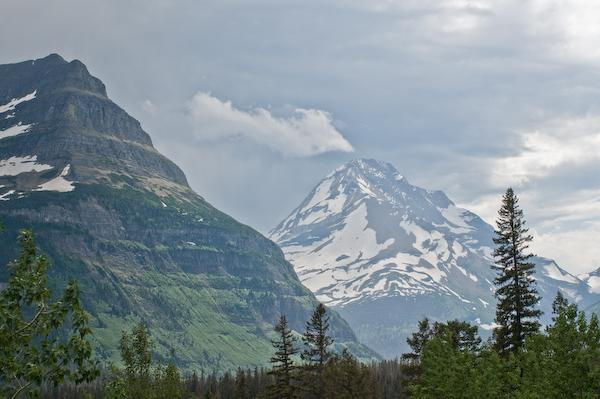 Gunsight Pass (Glacier NP, Montana)