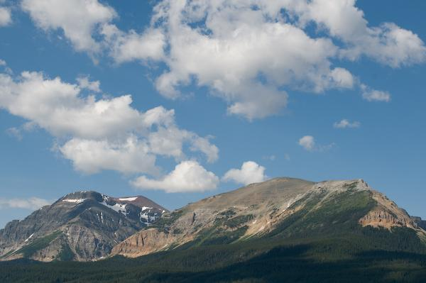 Beautiful mountain weather (Waterton Lakes NP, Alberta)