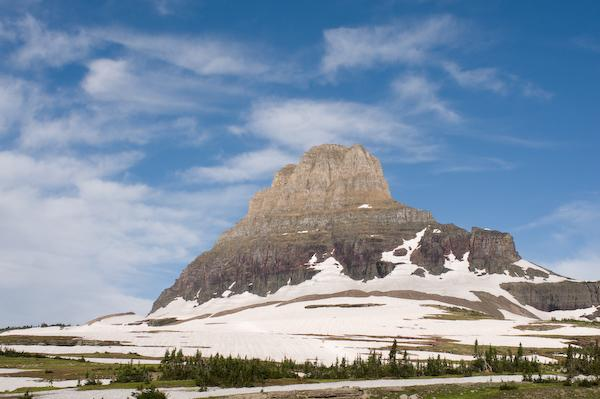 On our fifth hike, Mount Oberlin (Glacier NP, Montana)