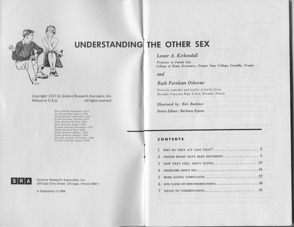 Understanding the Other Sex, page 2